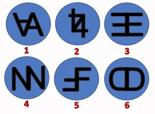 Fun For All: Symbols - Odd One Out Puzzle