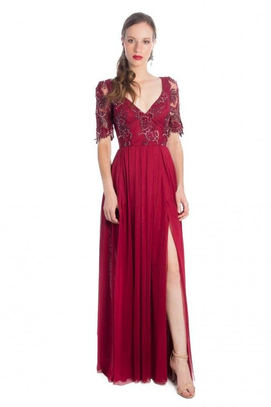 7250bbaf03 Same No More - Aluguel de Vestidos e Acessórios para Festa. Vestido Red  Valentino -