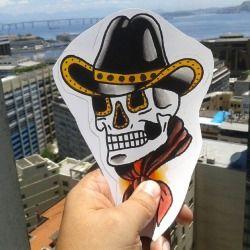 Dia lindo no #riodejaneiro. Bom para tirar uma foto como essa. Com #flashart para #tattoo #zombiecowboy assinada pelo #tatuador Otto Drummond. Para #tatuar com o Otto é só entrar em contato com a Almirante pelo inbox no Facebook. Ou também aparecendo direto aqui no Estúdio.   ALMIRANTE TATTOO (21) 2292-9338 almirantetattoo@gmail.com Av. Almirante Barroso, 63, sala 2612. CENTRO RIO DE ...