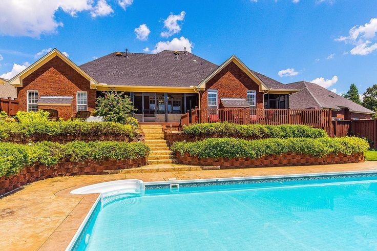 CLICK2TOUR Private oasis in the heart of Prattville! 4BR/3.5BA w/ 2 living areas, beautifully detailed throughout, screen porches, pool, 4-car garage, workshop, acreage, fenced...For more details, call/text Lynn Clark, 334-303-6028, RE/MAX Properties. #PrattvilleAL #homesforsale Photos & tour by Sherry Watkins…I Shoot Houses…http://www.Go2REassistant.com/VirtualTours.htm