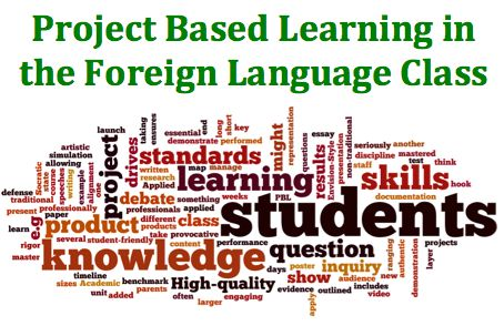 Project Based Learning provides opportunities for students to engage with the language authentically.