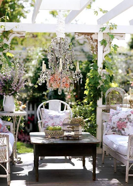 Outdoor Furniture: Old Painted Shabby Chic Furniture Start A Front Yard  Garden Ideas Shabby Chic Outdoor Furniture, Shabby Chic Outdoor Furniture  Design ...