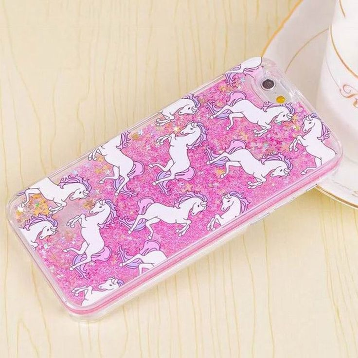 Cartoon Unicorn Horse Dynamic Glitter Stars Dynamic Liquid Phone Case For iPhone 4 4S 5 5S SE 5C 6 6S 6Plus 6SPlus Compatible Brand: Apple iPhones Type: Case Brand Name: LOVECOM Function: Dirt-resista