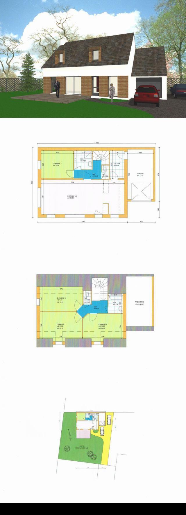 Maison 5 pieces 118 m2 st pierre quiberon proche centre village proche centre commerces et