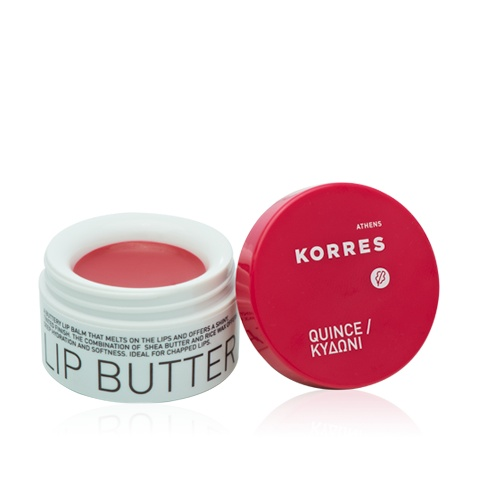 """Korres Lip Butter """"A butter I wish I could actually eat! Makes my lips delectably smooth and is the only lip stuff I use in the day."""" Shaleniie - Marketing Associate #luxola #obsessed"""