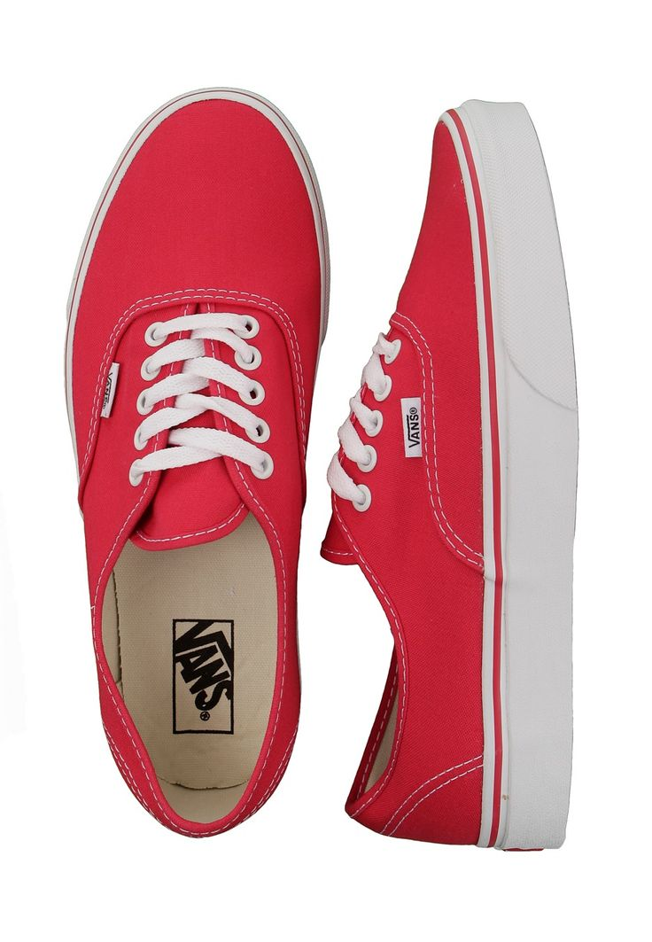 15 Must-see Vans Authentic Red Pins | Black vans, Vans authentic ...