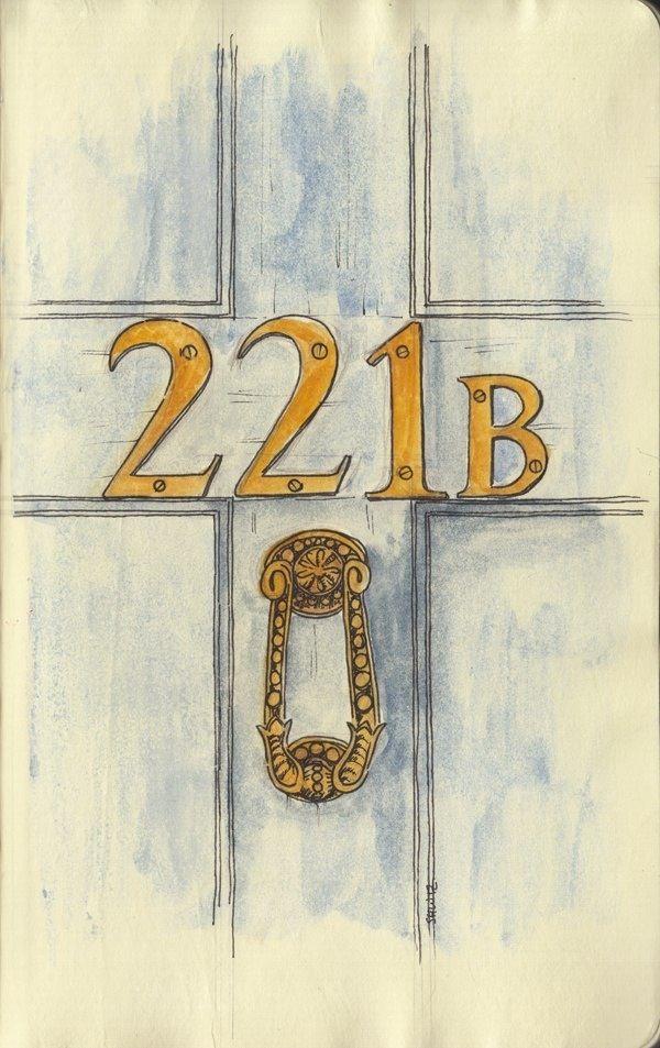 221b - Sherlock and Mycroft's home