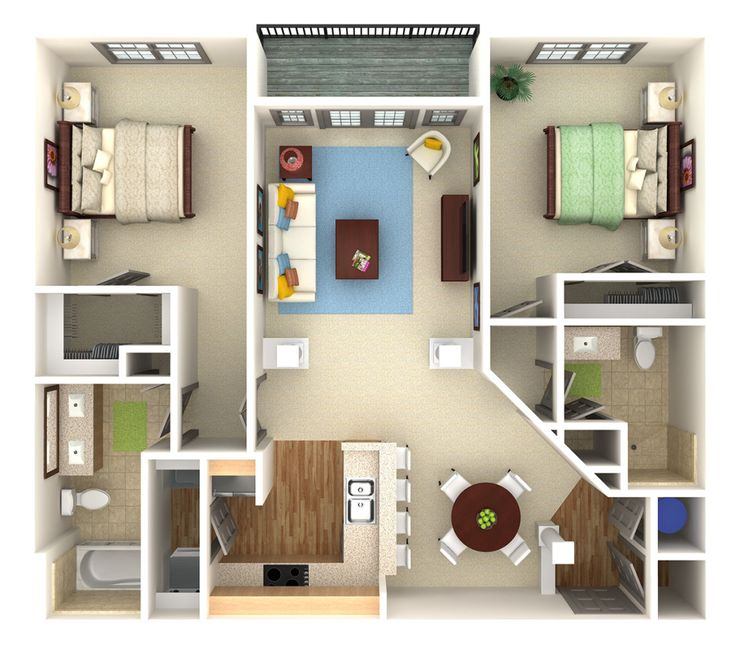 Apt Websites: 11 Best 3d Floor Plans For Apartments Images On Pinterest