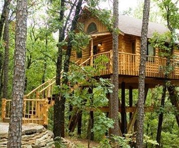 Incroyable Treehouse Cottages Eureka Springs Arkansas
