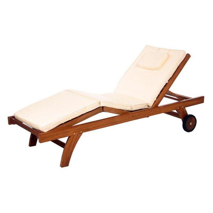 all things cedar chaise lounge outdoor cushion white tc70white