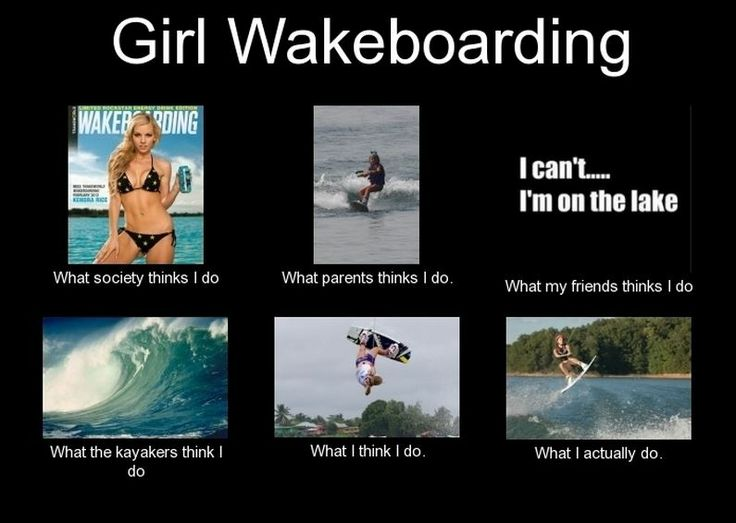 Funny Girl Meme Generator : Girl wakeboarding meme board with my lyfe pinterest