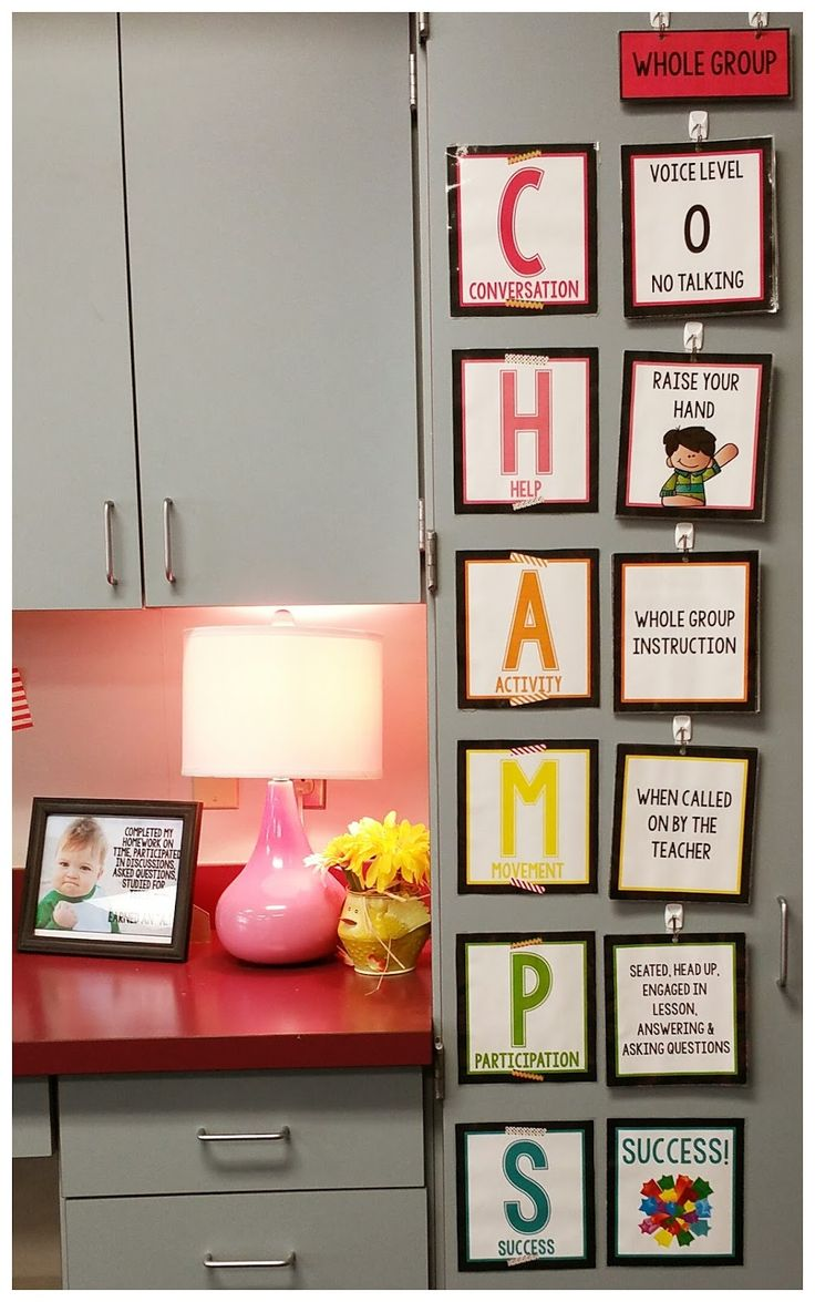 Teel's Treats: LOVE this CHAMPS poster set found on TpT by