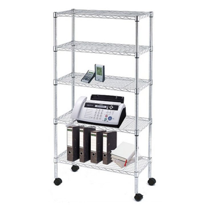 Sandusky Lee 30 x 14 x 60 in. Wire Commercial Shelving Unit - MWS301460