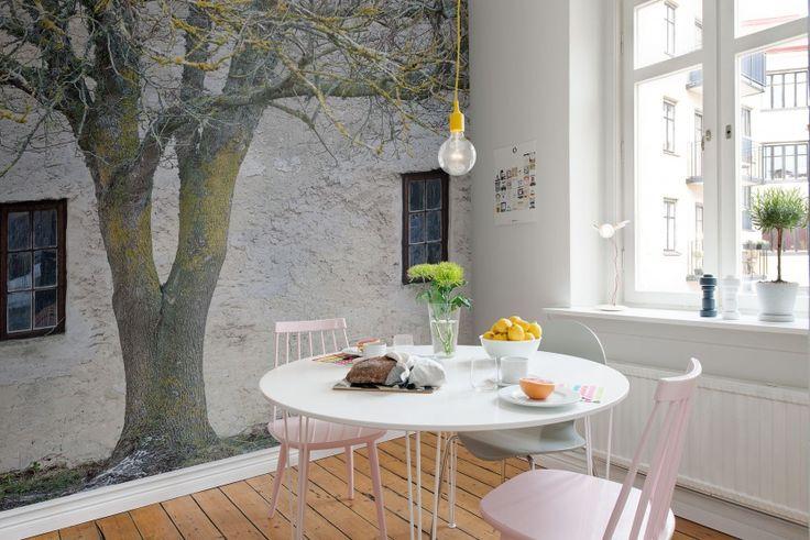 En favorittapet från Rebel Walls, Under The Tree! #rebelwalls #fototapet #tapeter