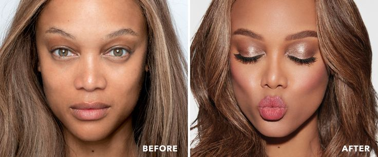 5 Minute TYover: Fresh Look Tyra Beauty Tyra Banks Cheek in a stick Eyes in a Stick  Snack My Fat Lash