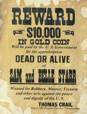 34 best images about Old West Wanted Posters on Pinterest | Belle ...