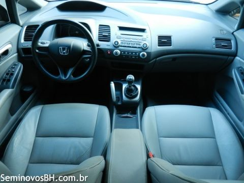 Seminovos BH   Honda Civic 1.8 8V LXS cor Verde 2006/2007