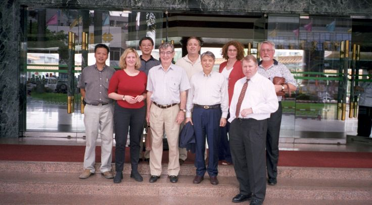 OUr Group in China setting up the Graland Factory