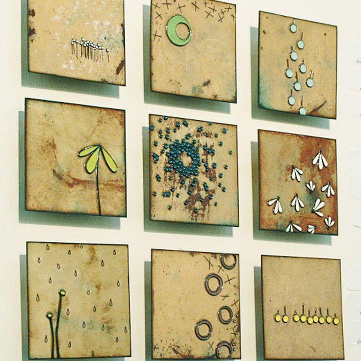 Nice Ceramic Wall Tile Art Embellishment - Wall Art Collections ...