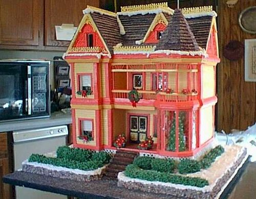 Gingerbread: Victorian House, Deni Cole, Holidays, Gingerbread Ideas, Gingerbread Houses, Photo, Mansions, Christmas Gingerbread