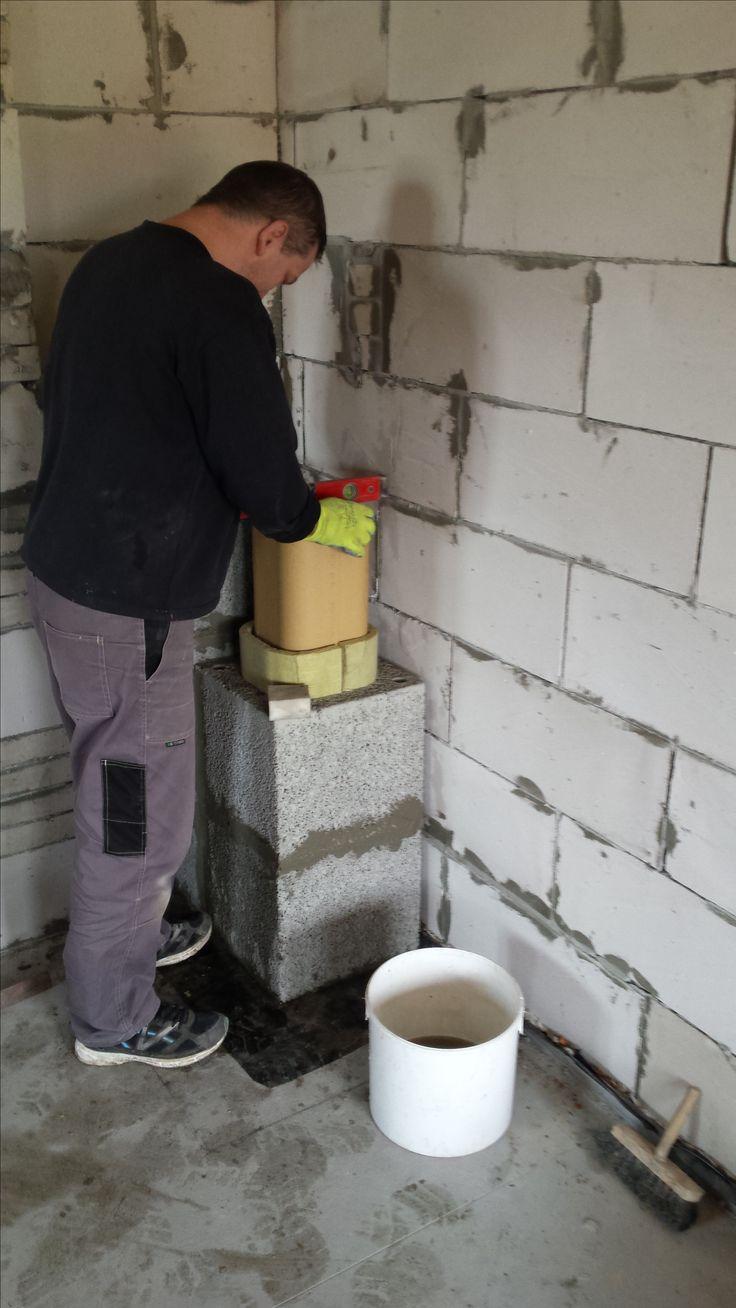 komin systemowy budowany przez firme studiozdunskie.pl