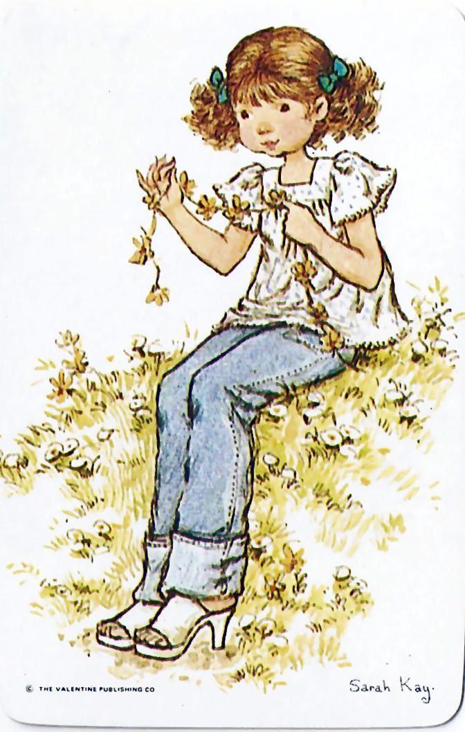 Guirnalda de flores - Sarah Kay
