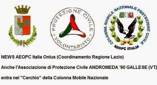 onlus: Associazione di Protezione Civile ANDROMEDA