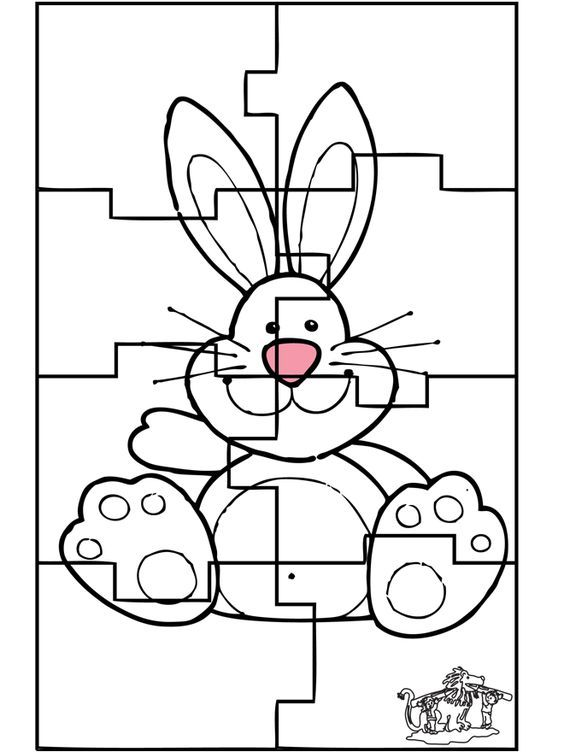 Easter Bunny Tons Of Cute Printable Coloring And Activity