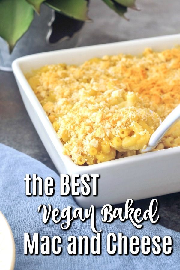The Best Vegan Baked Mac And Cheese Glutenfree Option Simple