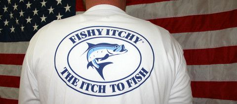 The FISHY ITCHY Frosty Ice The Performance Shirt that hardly needs an introduction, the Frosty Ice is the coolest performance shirt out on the water. How cool does the Frosty Ice make you feel in the heat? Imagine Mr. Freeze in Batman spraying you with ice while fishing in 98 degrees with 100% humidity. #AMERICA
