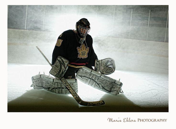MEP Photo Blog: The Guy Behind the Mask - Maple Grove Hockey Goalie Senior Pictures | Maris Ehlers Photography