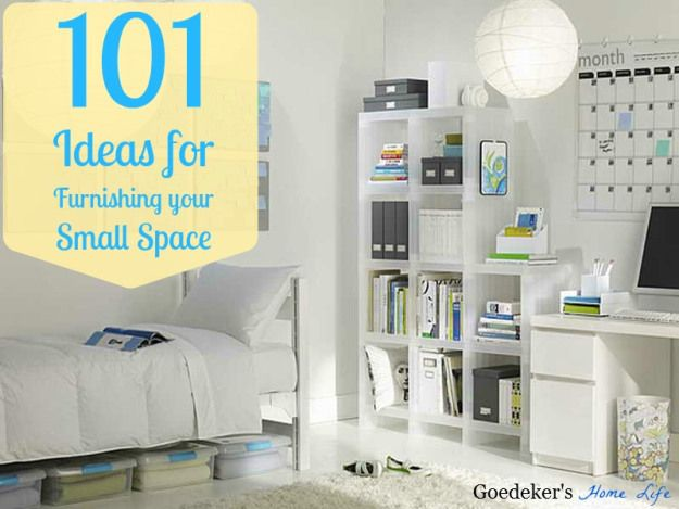 101 ideas for furnishing your small space small spaces - Organizing for small spaces collection ...