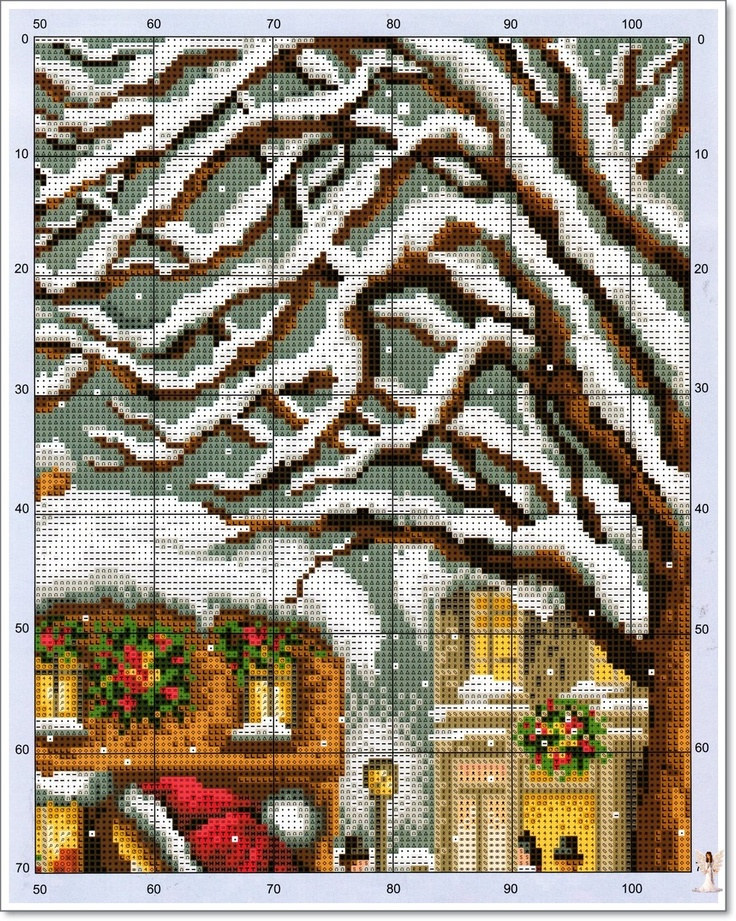 Glædelig jul: TABELLER: Galleryru, Фото 171, Crossstitch Crazy, Cross Stitch, Stitches Christmas, Points De, Crosses Stitches, Stores Window, Cross