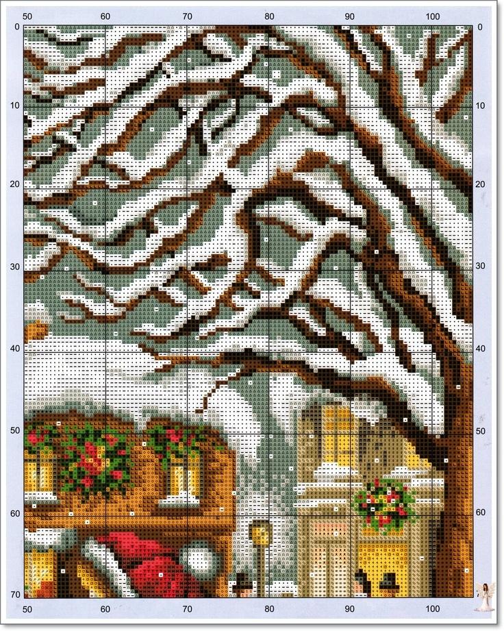 Glædelig jul: TABELLER: Galleryru, Фото 171, Crossstitch Crazy, Cross Stitch, Stitches Christmas, Points De, Crosses Stitches, Stores Window, Cross