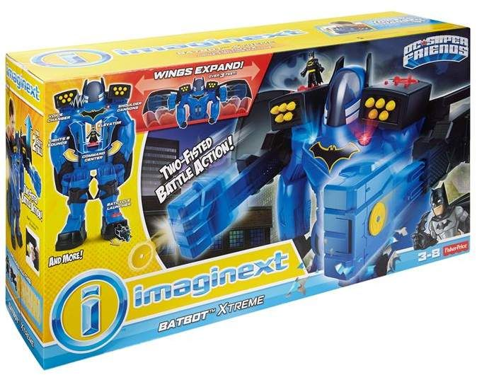 Dc Comics Imaginext Batrobot