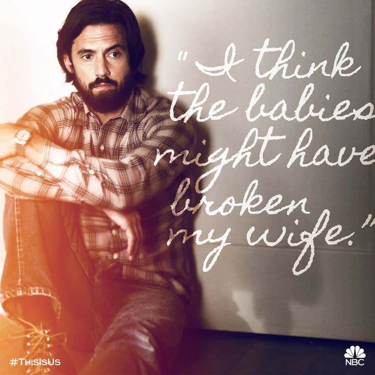 This is the new normal. #ThisIsUs