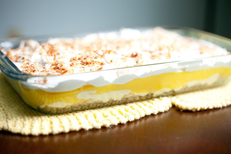 Lemon Lush Dessert Recipe