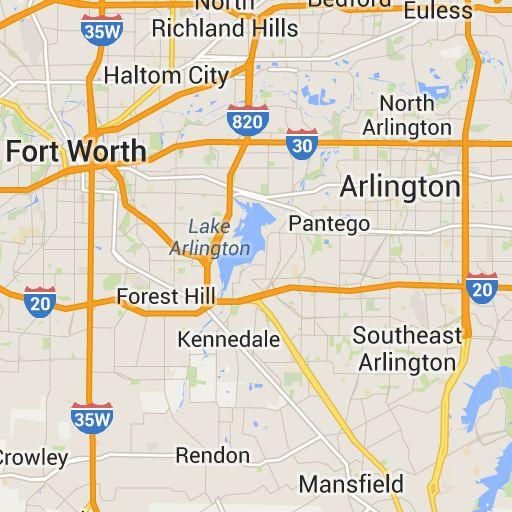 Google Map Dallas Texas | Business Ideas 2013