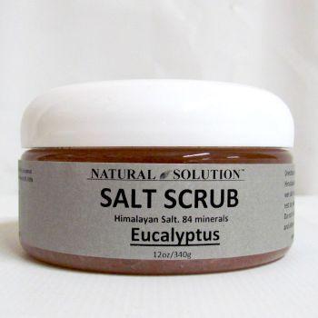 $25 Eucalyptus Himalayan Salt Scrub