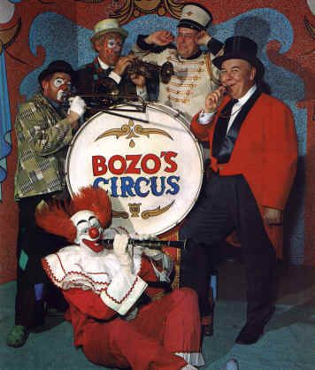 Bozo's Circus was broadcast from Chicago. I watched it in black and white for many years.