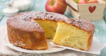 La torta melina è un dolce favoloso, ricco di tante mele e sofficissimo, si fa in meno di 5 minuti senza usare frullini o sbattitori, serve solo una forchetta!