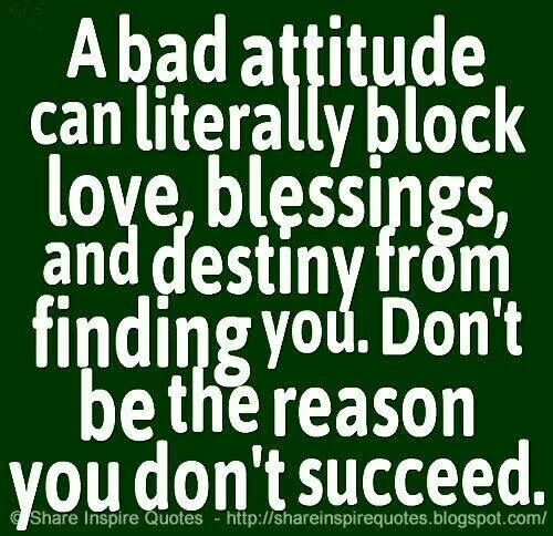 people with bad attitude quotes - photo #31