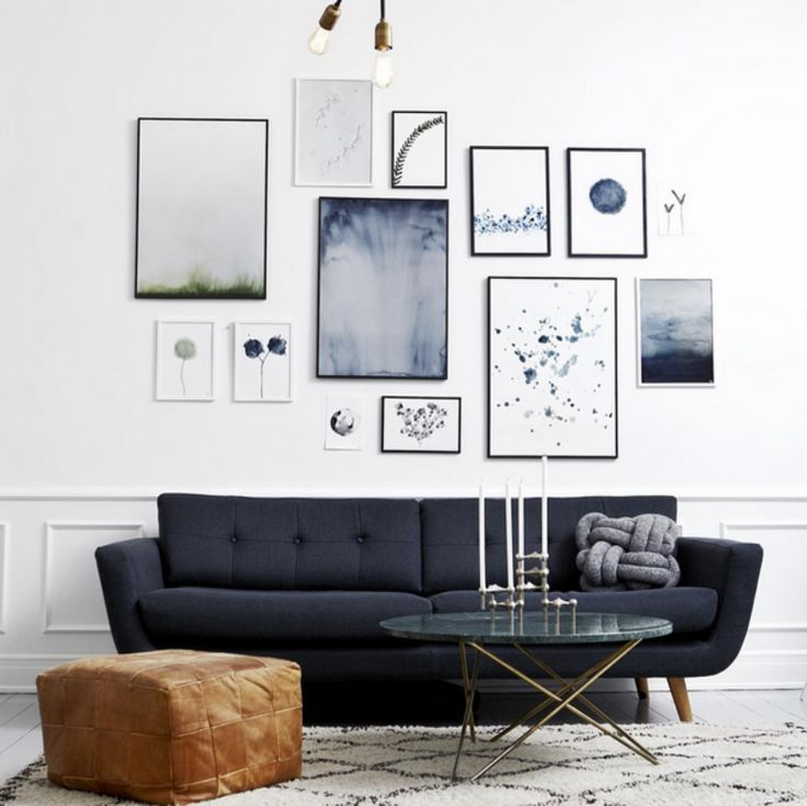 Poster wall - beautiful! Where to buy? Look here!