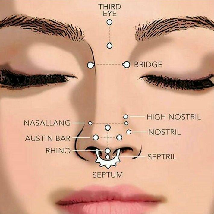 Nombres de los piercings faciales más comunes https://www.limonbay.com