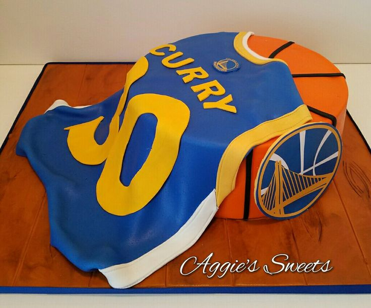 Steph Curry/Golden State Warriors Birthday Cake