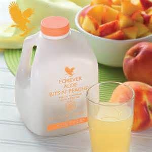 aloe vera gel bits n' peaches
