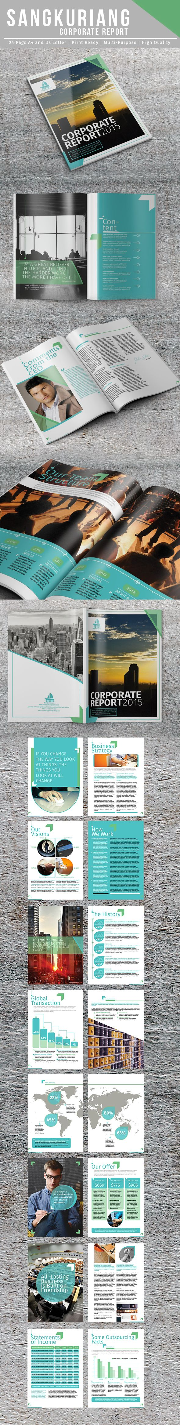 Sangkuriang Corporate Report on Behance