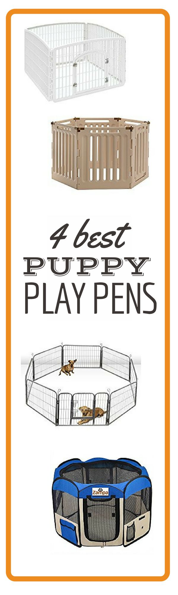 The Top 5 Puppy Playpens                                                                                                                                                                                 More