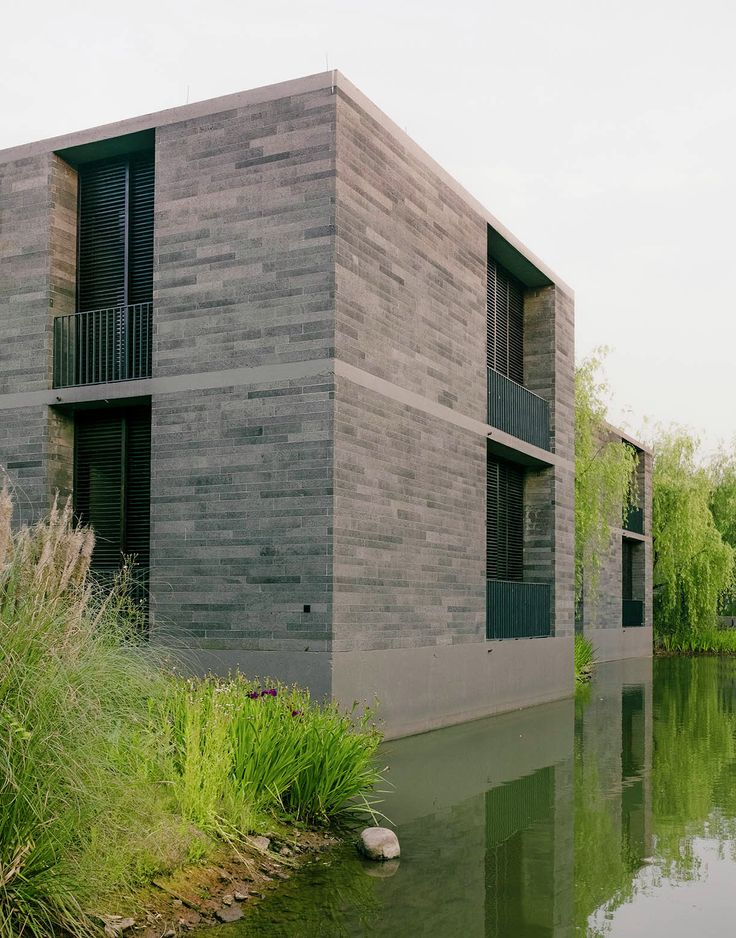 Image 4 of 27 from gallery of Xixi Wetland Estate / David Chipperfield Architects. Photograph by Simon Menges