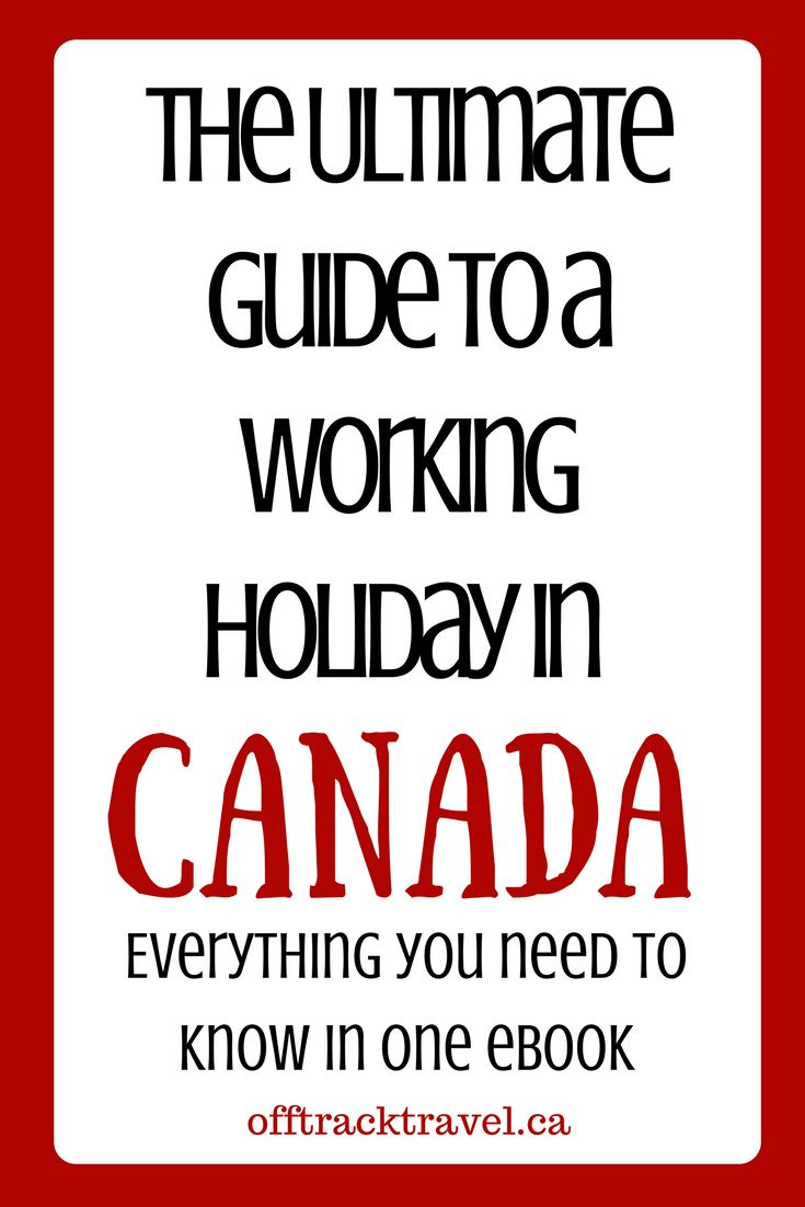 Want to live and work in Canada for a year or two? Over 30 nationalities can take part in the International Experience Canada (IEC) working holiday program. The Ultimate Guide to a Working Holiday in Canada includes information about applying for the IEC, how to prepare for going to Canada, what to do on arrival, how to look for work and more. offtracktravel.ca